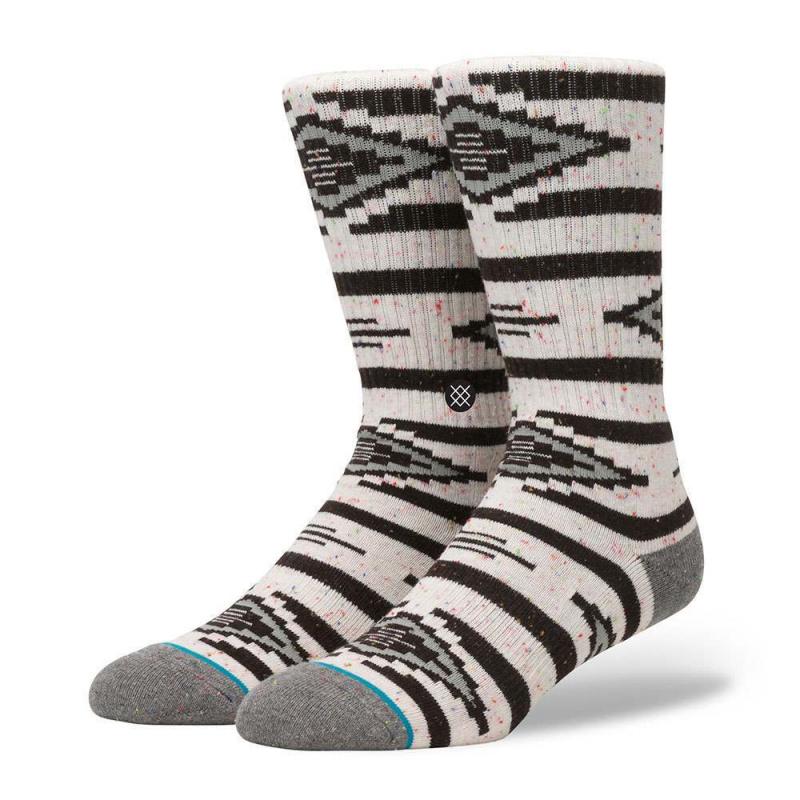 Stance Graved USA Socks Off White