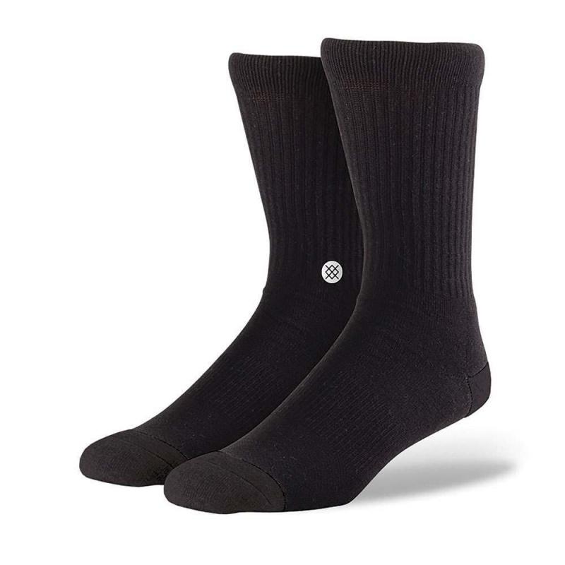 Stance Icon Staple Socks Black/White