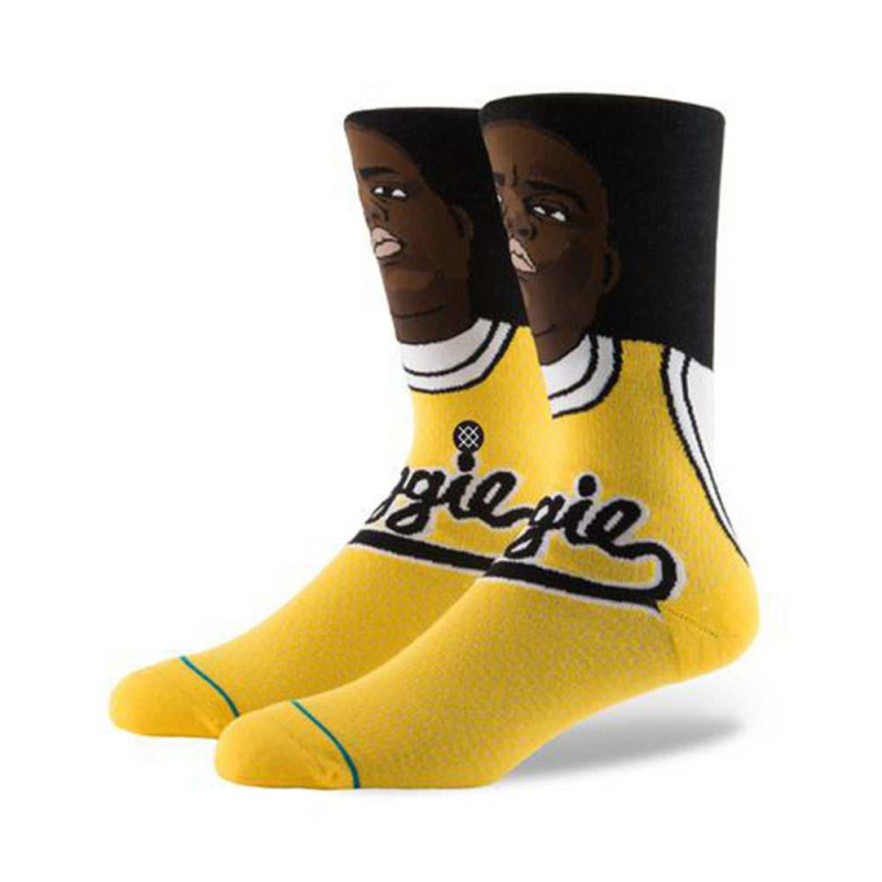 Stance Juicy X Notorious BIG Socks Yellow