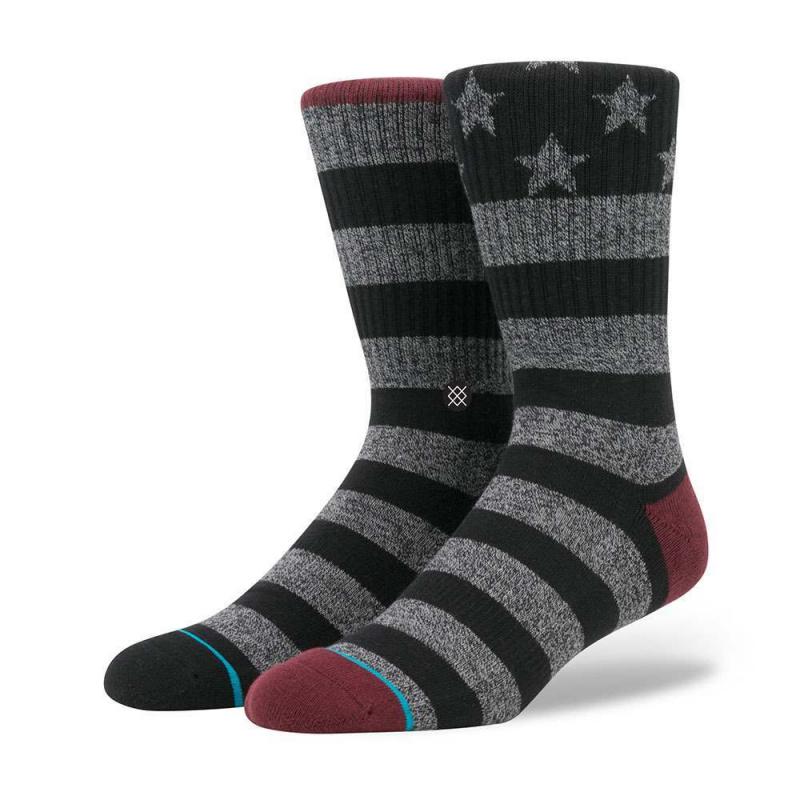 Stance Lone Ranger USA Socks Grey