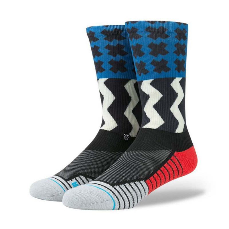 Stance Mission One Fusion Socks Blue