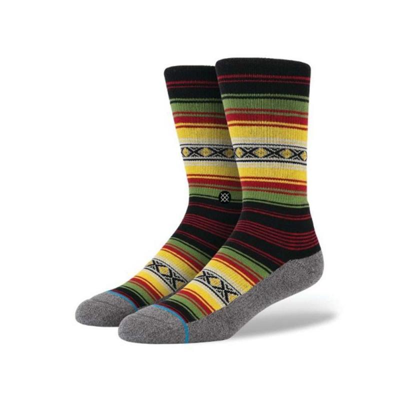 Stance Montego Socks Red