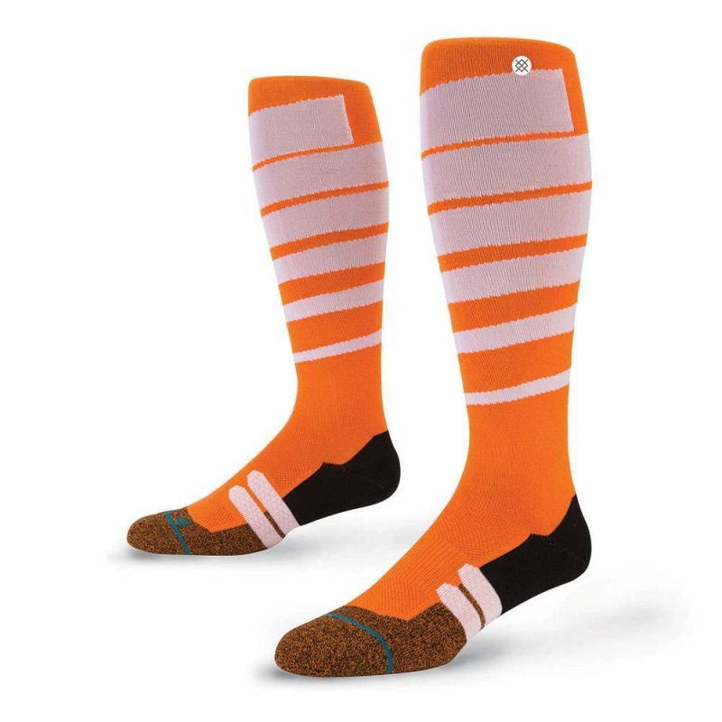 Stance Moto Groove Socks Orange