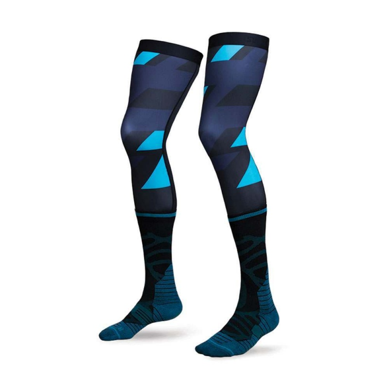 Stance Moto K-Roc Knee Brace Socks Navy