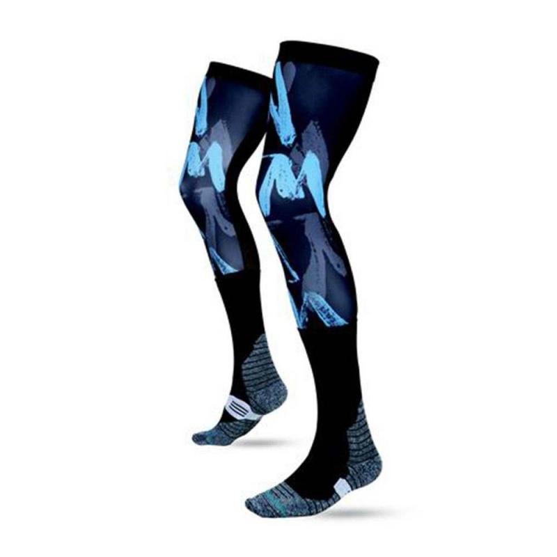 Stance Moto Uncommon Knee Brace Socks Black
