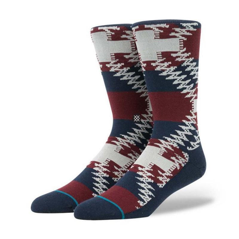 Stance Mustang Socks Navy