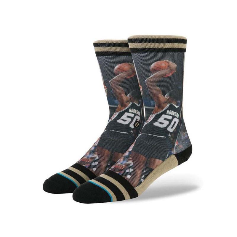 STANCE NBA D ROBINSON SOCKS Black