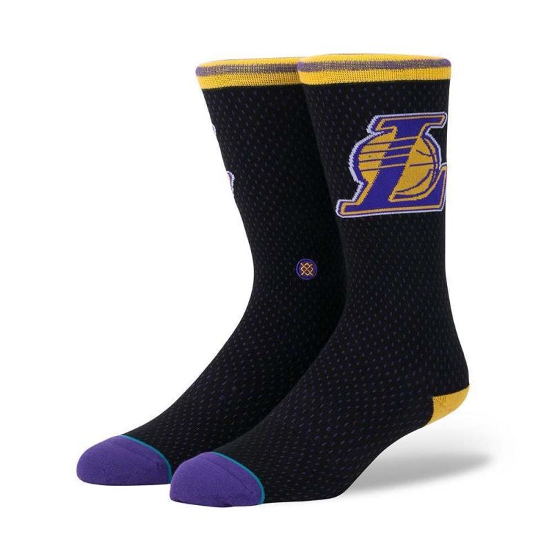 Stance NBA Lakers Jersey Socks Black