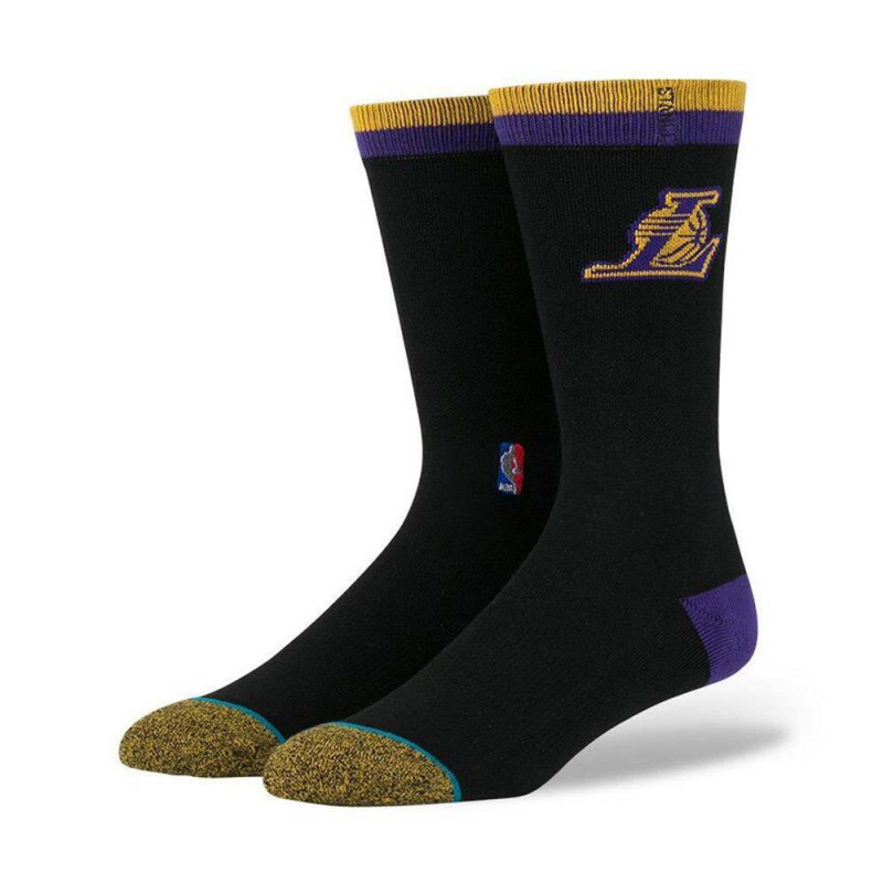 Stance NBA Los Angeles Lakers Arena Logo Socks