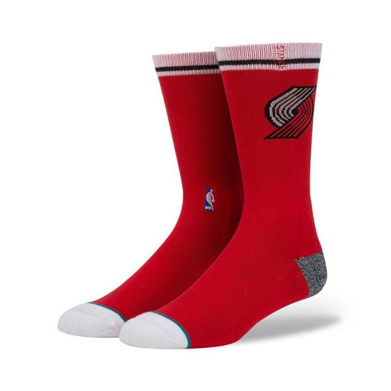 Stance NBA Portland Blazers Arena Logo Socks