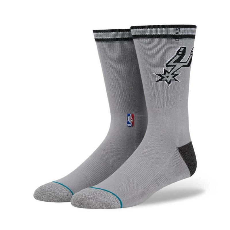 Stance NBA San Antonio Spurs Arena Logo Socks