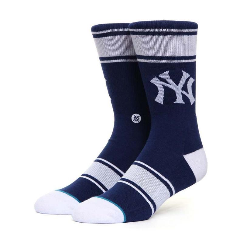 Stance New York Yankees Pinstripe Socks Black