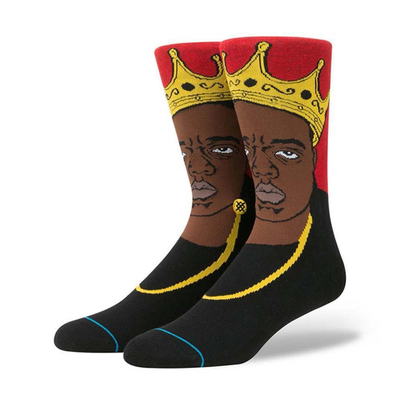 Stance Notorious BIG Socks Red