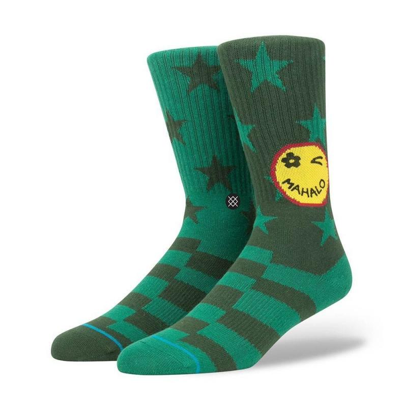 Stance Outlook Socks Green