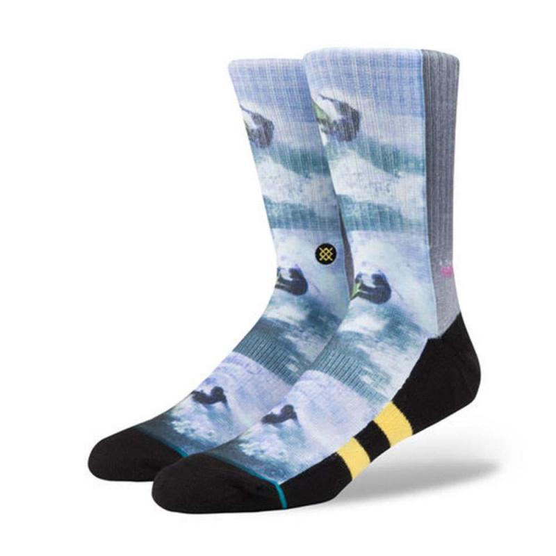 Stance Ross Surf Legends Socks Yellow