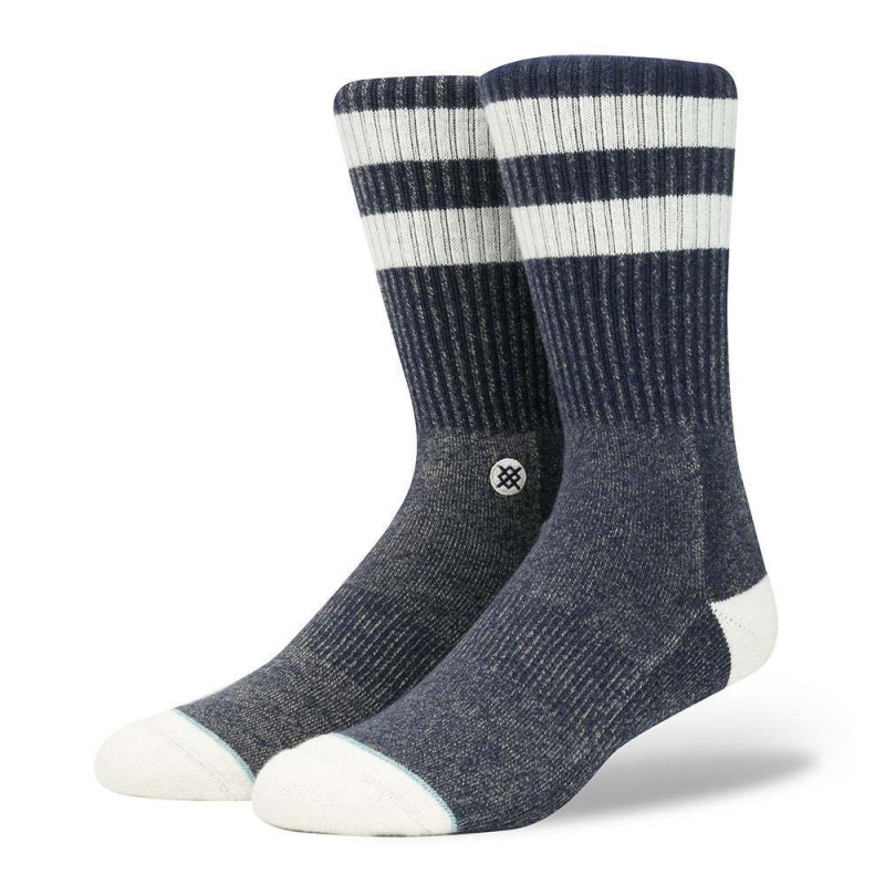 Stance Salty Socks Navy