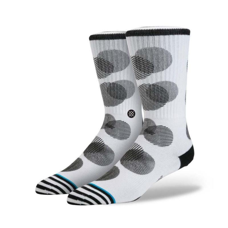 Stance Speck Socks White