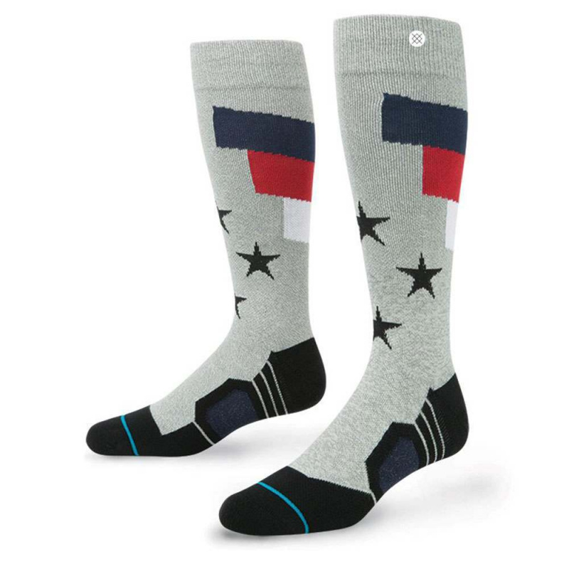 Stance Tomcat Fusion Snow Socks Grey