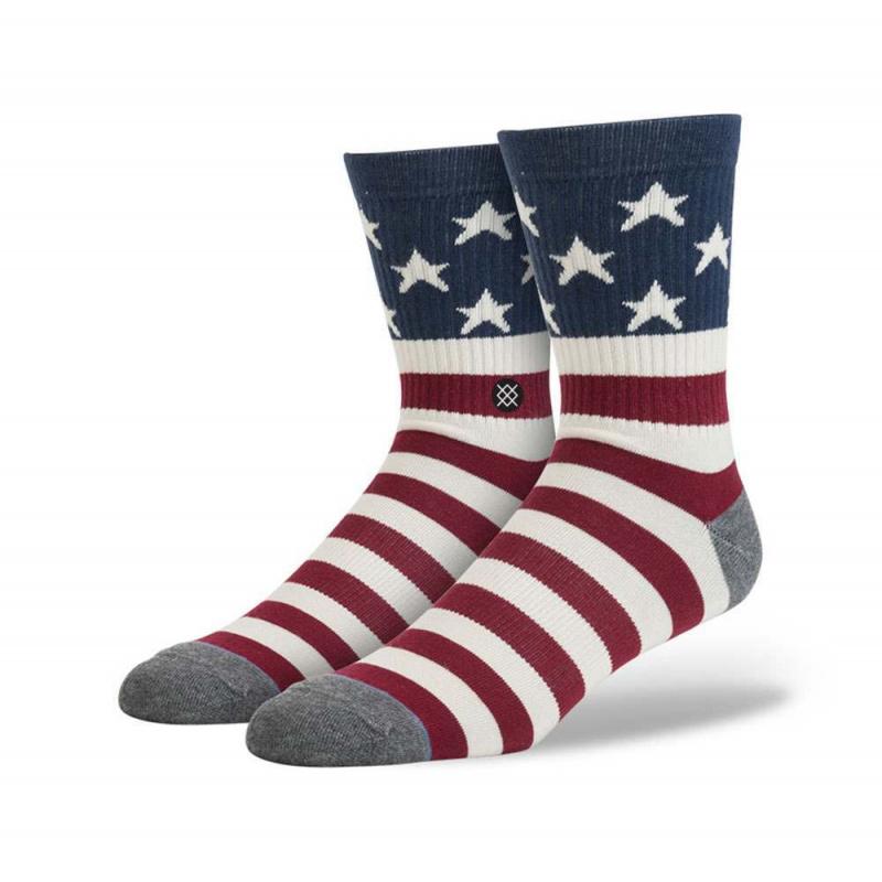 Stance Vinty Socks Red/White/Blue