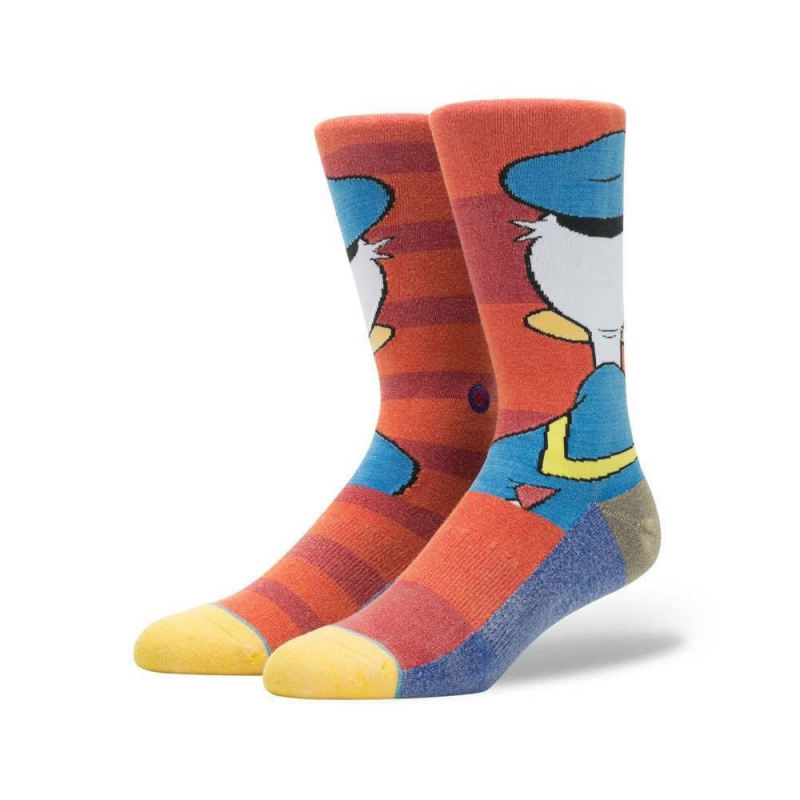 Stance X Disney Donald Duck Socks Red