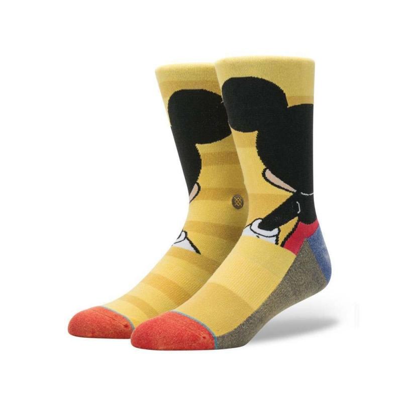 Stance X Disney Mickey Socks Yellow