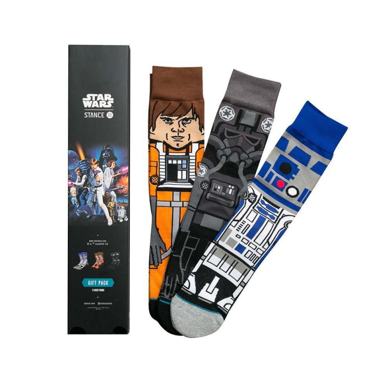 Stance X Star Wars A New Hope 3 Pack Box Set