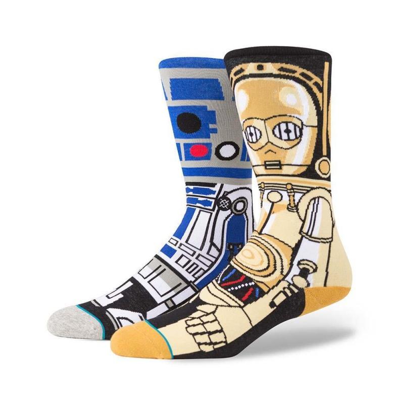 Stance X Star Wars Droid Socks Blue
