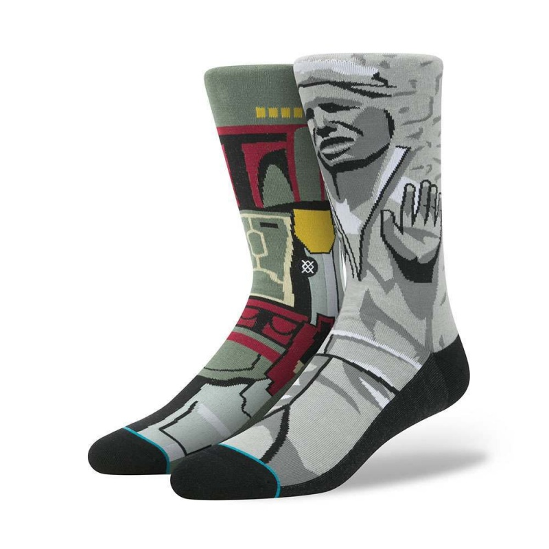Stance X Star Wars Frozen Bounty Socks Grey