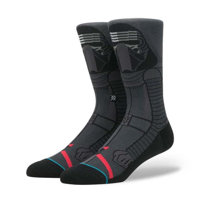 Stance X Star Wars Kylo Ren Socks Dark Grey