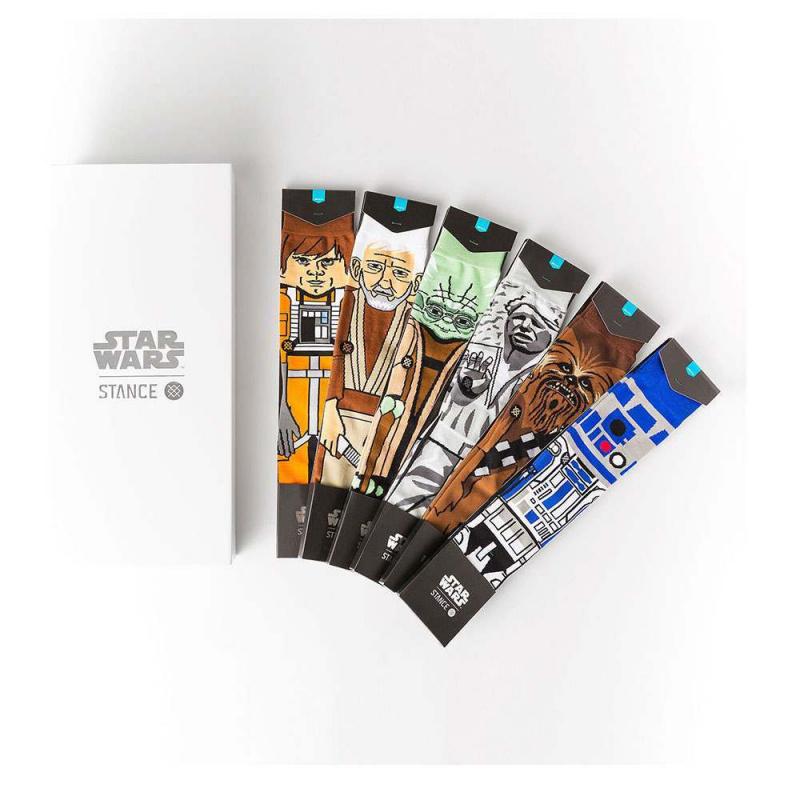 Stance X Star Wars Light Side 6 Pack Box Set