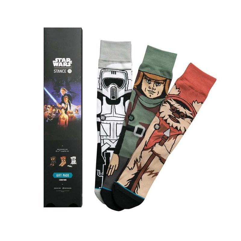 Stance X Star Wars Return of the Jedi 3 Pack Set