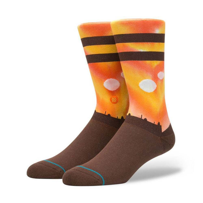 Stance X Star Wars Tatoonie Planet Socks Orange