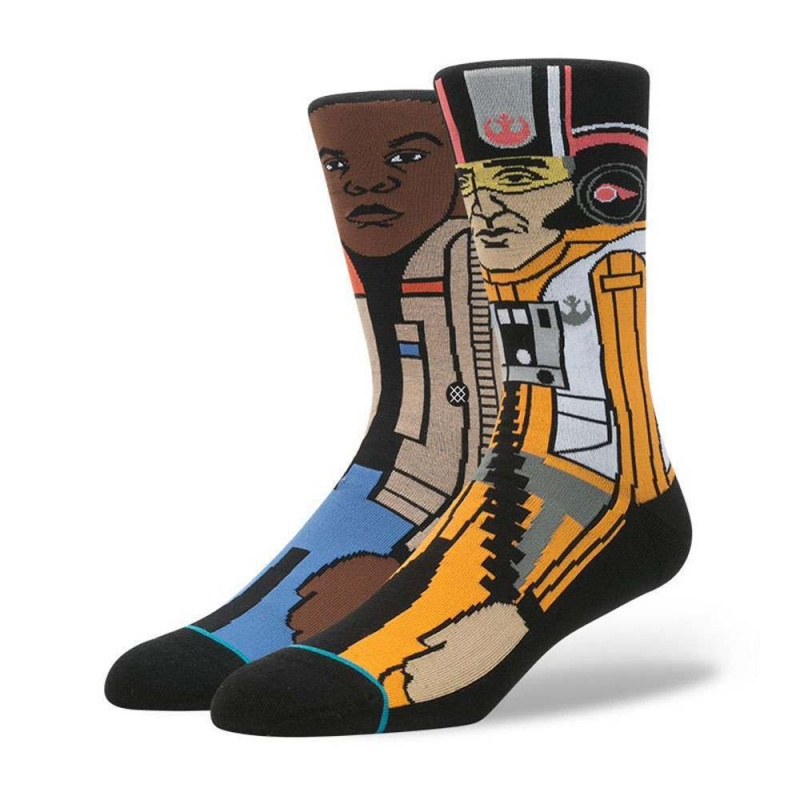 Stance X Star Wars The Resistance 2 Socks Orange