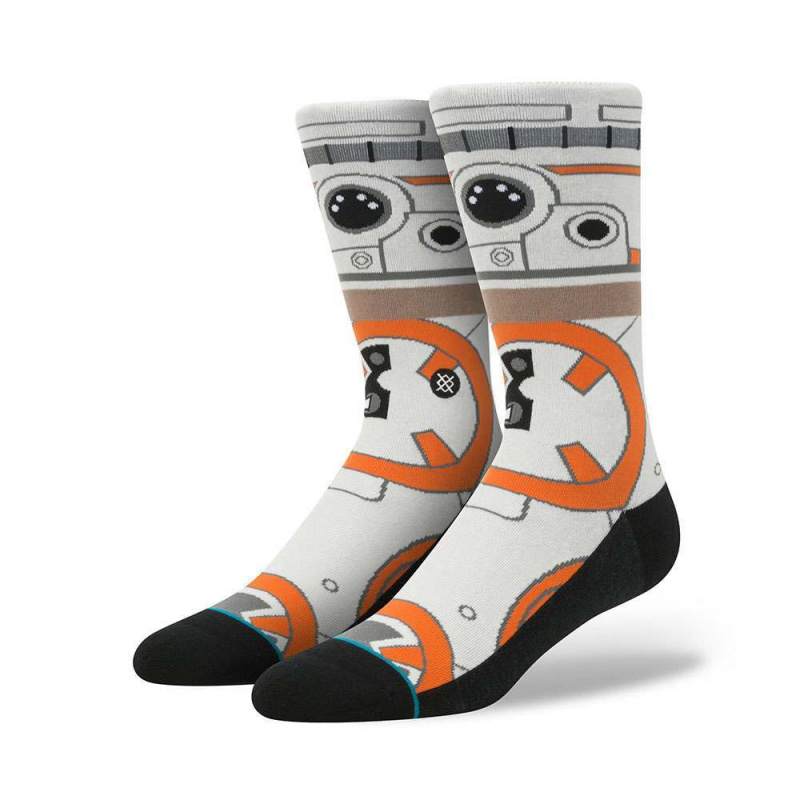 Stance X Star Wars Thumbs Up BB8 Socks Natural
