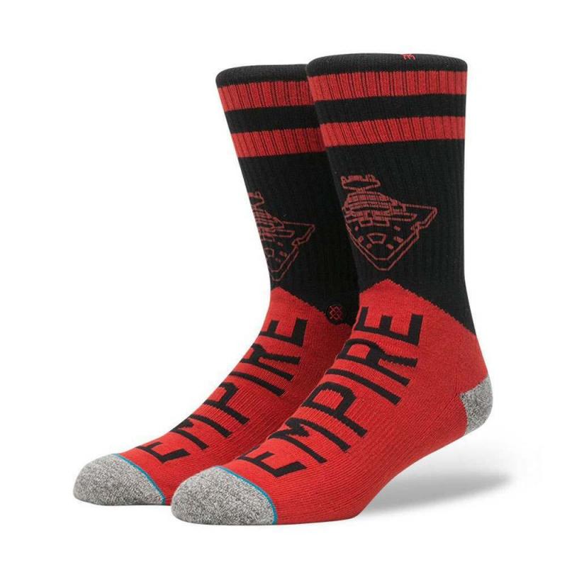 Stance X Star Wars Varsity Empire Socks Red