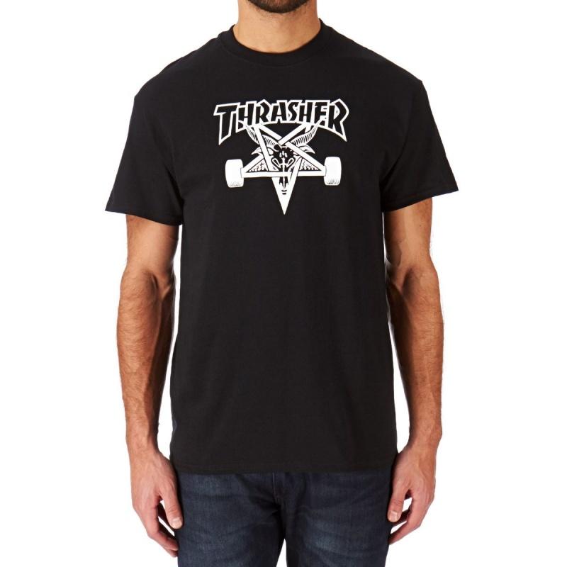 THRASHER SKATEGOAT T-SHIRT BLACK