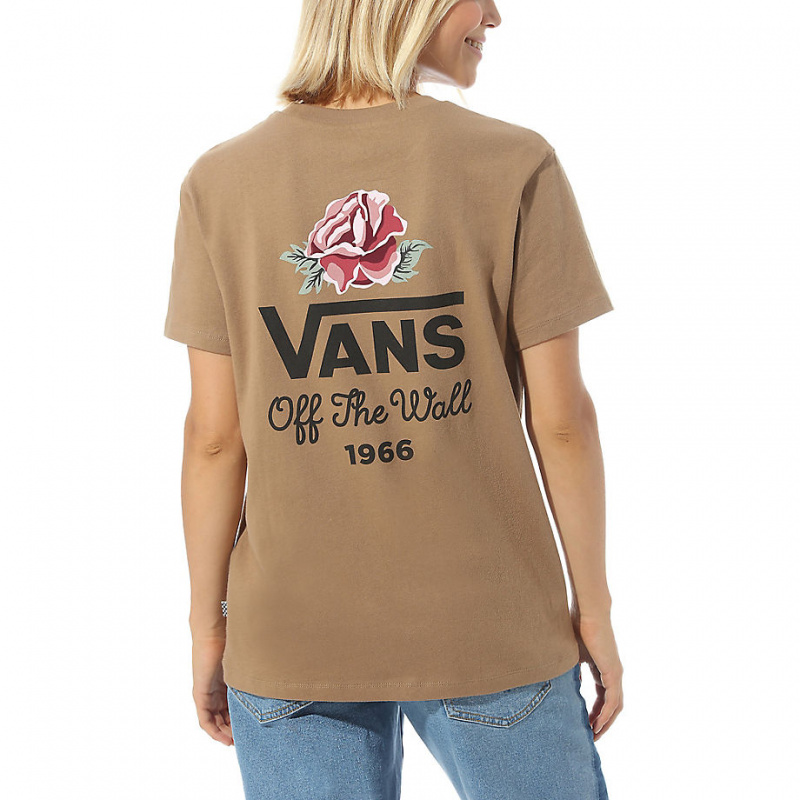 vans women t shirt