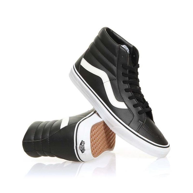 Vans Sk8-Hi Reissue Shoes Black/True White
