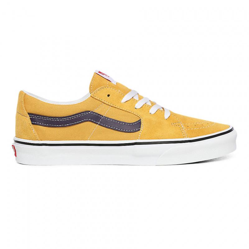 Vans Sk8-low Shoes (honey Gold/purple